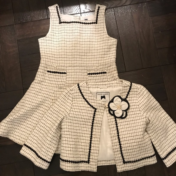 d0be147a4a44 Janie and Jack Other - JANIE AND JACK DRESS AND JACKET SET - CHANEL LOOK!